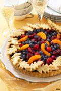 Image: berry tart