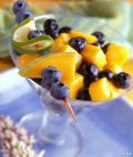 Image: blueberry mango salad