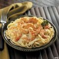 Image: shrimp scampi pasta