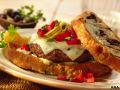 Image: tuscan olive burger