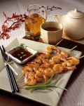 Image: asian honey tea grilled prawns