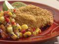 Image: tilapia with mango salsa